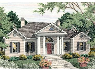 Ranch House Plan, 042H-0005
