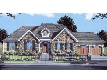 Ranch House Plan, 046H-0122
