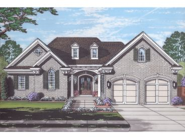 One-Story House Plan, 046H-0158