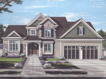 Two-Story House Plan, 046H-0150