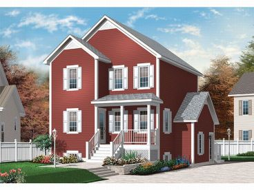 Multi-Generational House, 027H-0036