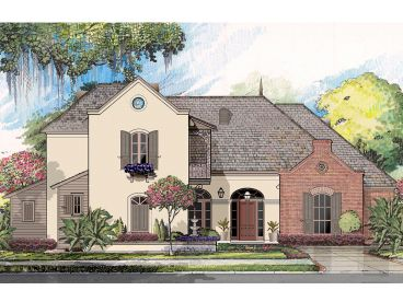 European House Plan, 079H-0014