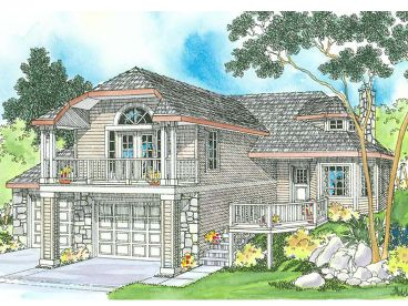 Contemporary House Plan, 051H-0066