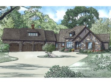 Luxury House Plan, 025H-0322