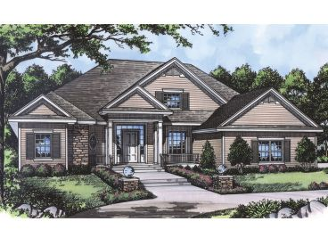 Traditional Home Plan, 043H-0113