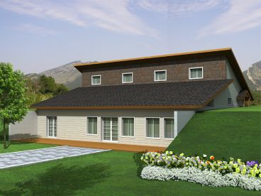 Unique Ranch House Plan, 012H-0103