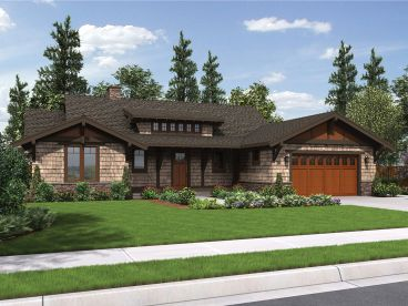 Craftsman House Plan, 034H-0266