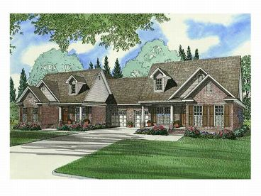 Multi-Family Home Plan, 025M-0009