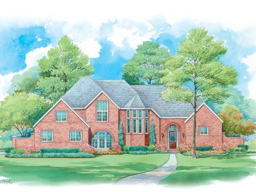 Luxury House Plan, 031H-0225