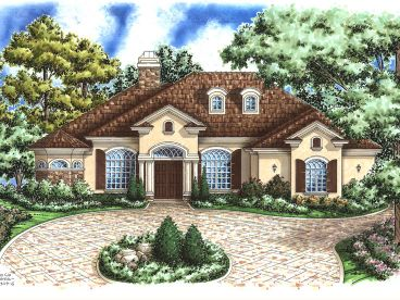 Ranch Home Plan, 040H-0007