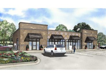 Strip Mall Plan, 025C-0032