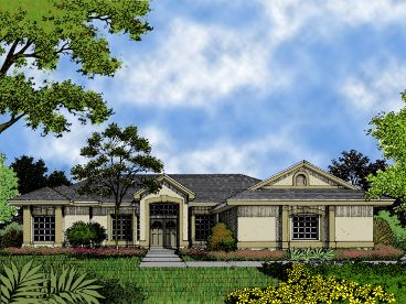 Contemporary Home Plan, 043H-0046