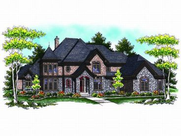 Luxury House Plan, 020H-0148
