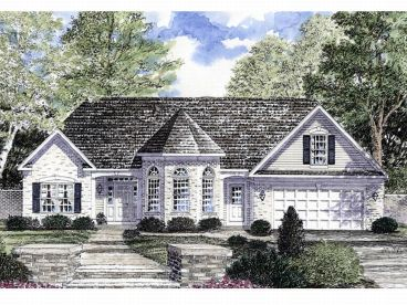 1-Story House Plan, 014H-0010