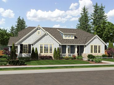 Ranch House Plan, 046H-0014