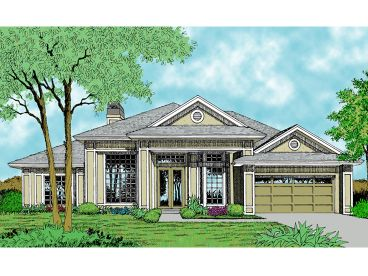 Contemporary Home Plan, 043H-0122