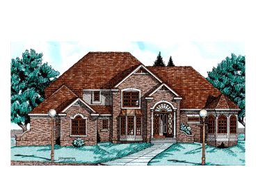 Luxury Home Plan, 031H-0109