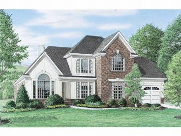 Two-Story House Design, 011H-0009