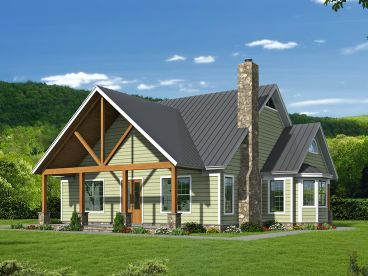 Two-Story House Plan, 062H-0106