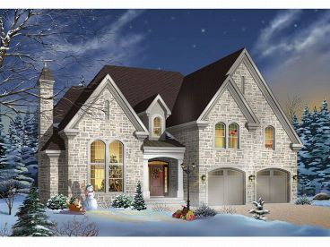 Two-Story House Design, 027H-0084