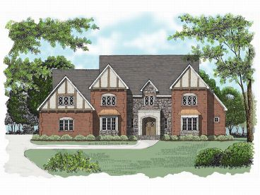 Luxury European Home, 029H-0052