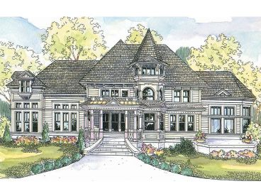 Luxury House Plan, 051H-0127