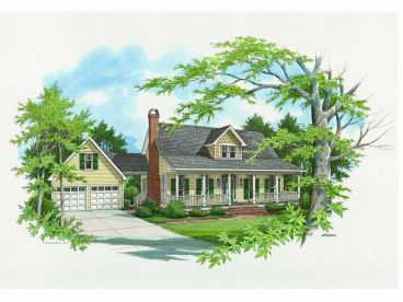 Country House Plan, 030H-0047