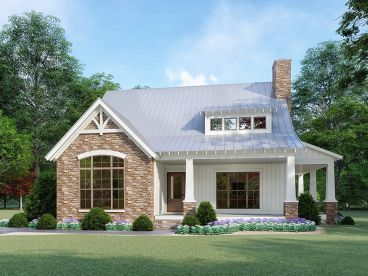 Country Craftsman House, 074H-0091