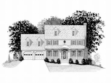 2-Story House Plan, 007H-0043