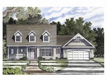 Country Home Plan, 014H-0024