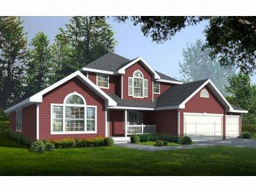 2-Story House Plan, 026H-0025