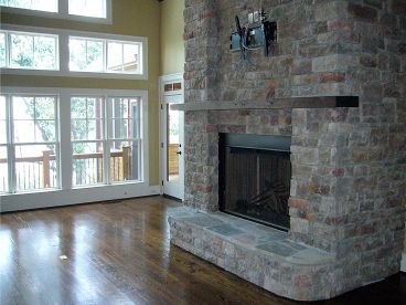 Fireplace Photo, 053H-0003