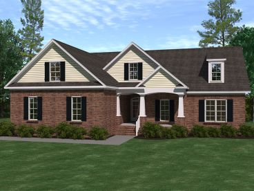 Traditional House Plan, 080H-0019