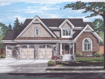 Two-Story House Plan, 046H-0157