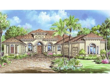 Florida Home Plan, 037H-0013