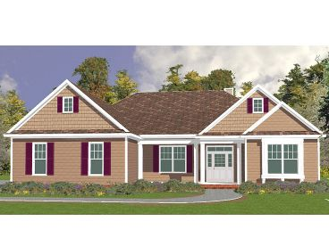 Traditional House Plan, 073H-0029
