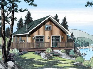 Vacation House Plan, 047H-0083