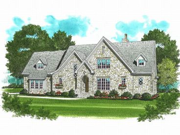 Luxury 2-Story Home, 029H-0089