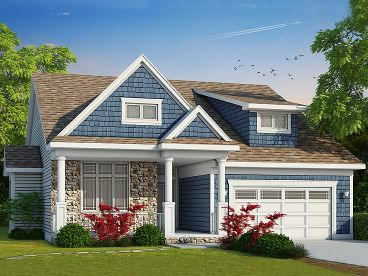 Craftsman House Plan, 031H-0270