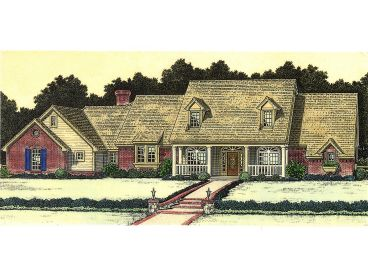 Country House Plan, 002H-0015
