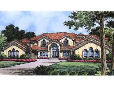 Luxury House Plan, 043H-0229