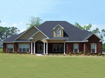 Traditional House Plan Photo, 073H-0006