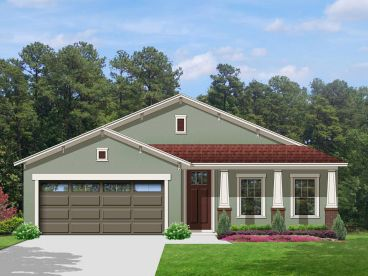 Ranch Home Plan, 064H-0060