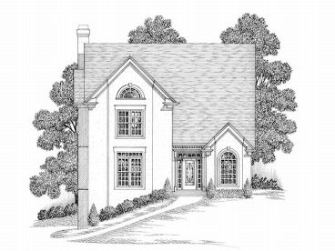 Sloping Lot Home Plan, 007H-0107