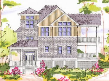 2-Story Home Plan, 041H-0100