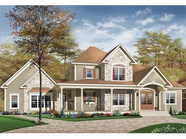 Country House Design, 027H-0026