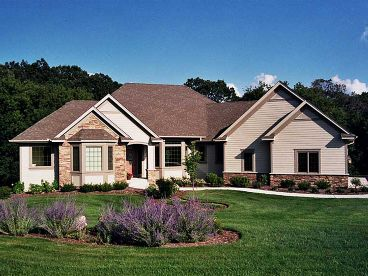 Traditional Home Plan, 023H-0147