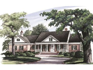 Ranch House Plan, 063H-0138