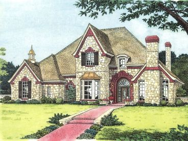 Two-Story House Plan, 002H-0071