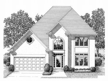 2-Story House Plan, 007H-0076